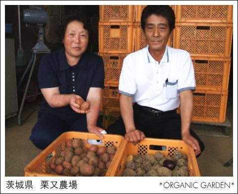 有機野菜生産者:栗又農場