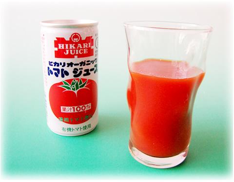 オーガニックトマトジュース 190g